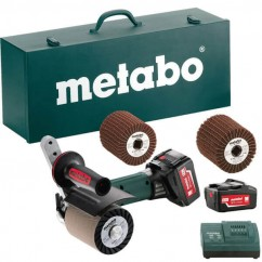 Metabo S 18 LTX 115 SET - 18V Cordless Burnishing Machine Kit 600154880 Cordless Burnisher
