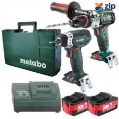 Metabo SB 18 LTXBL SSD - 18V 5.2Ah 2 Piece Combo Kit AU68901310 Combo Kits 18v