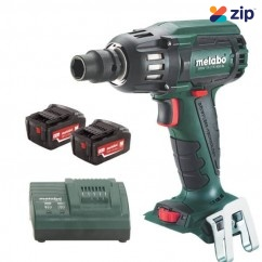 "Metabo SSW 18 LTX 400 BL - 18V 1/2"" 5.2AH Brushless Cordless Impact Wrench Kit 602205650 Impact Wrenches"