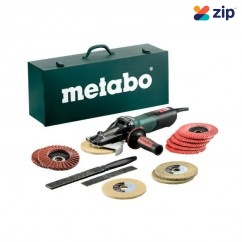 Metabo WEVF 10-125 - 240V 1000W Quick Inox Set Flat-head Angle Grinder 613080500