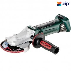 Metabo WF18LTX125QPLUS - 18V Cordless Flat-head Quick Angle Grinder Skin 601306890  Grinding