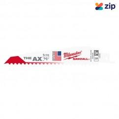 Milwaukee 48005021 - 150mm 5 TPI The Ax SAWZALL Blade (5 Pack) Saw Blades