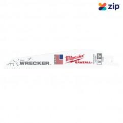 Milwaukee 48005701 - 150mm 8 TPI The Wrecker SAWZALL Blade (5 Pack) Saw Blades