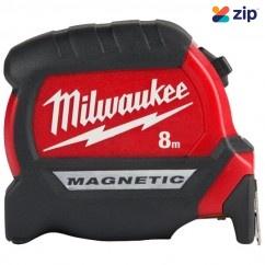 Milwaukee 48220508 - 8m Compact Magnetic Tape Measure