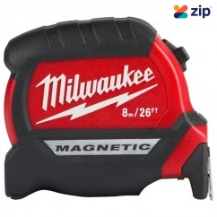 Milwaukee 48220526 - 8m/26ft Compact Magnetic Tape Measures