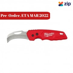 Milwaukee 48221525 - Fastback Hawkbill Folding Flip Knife Cutting Knives
