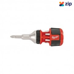 Milwaukee 48222330 - Compact 8 In 1 Ratchet Multi Bit Driver Driver & Drill Bit Sets