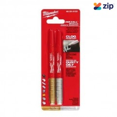 Milwaukee 48223123 - 2PKT Silver/Gold Inkzall Fine Point Marker Milwaukee Accessories