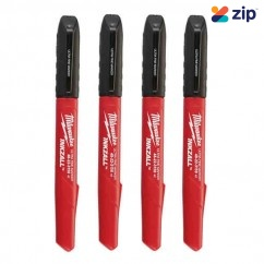Milwaukee 48223154 - INKZALL Black Ultra Fine Point Markers Milwaukee Accessories