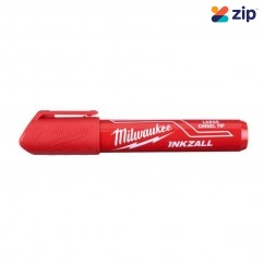 Milwaukee 48223256 - InkzalL Red Large Chisel Tip Marker Markers & Pens