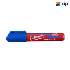 Milwaukee 48223257 - InkzalL Blue Large Chisel Tip Marker Markers & Pens