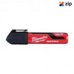 Milwaukee 48223260 - InkzalL Black Extra Large Chisel Tip HS Marker  Milwaukee Accessories