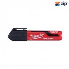 Milwaukee 48223265 - InkzalL Black Extra Large Chisel Tip Marker Markers & Pens