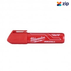 Milwaukee 48223266 - InkzalL Red Extra Large Chisel Tip Marker Markers & Pens
