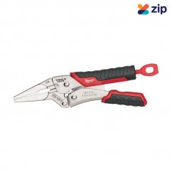 Milwaukee 48223406 - 152mm 6'' Torque Lock Long Nose Locking Pliers With Durable Grip Plier