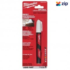 Milwaukee 48223712 - INKZALL White Paint Marker  Milwaukee Accessories