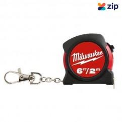Milwaukee 48225506C - 2M/6Ft Keychain Tape Measure Measuring Tape