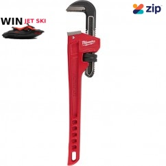 """Milwaukee 48227118 - 457mm (18"""") Steel Pipe Wrench Wrench"""