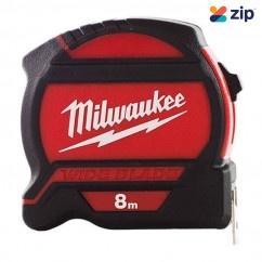 Milwaukee 48227528 - 8M WIDEBLADE Tape Measure Measuring Tape
