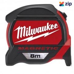 Milwaukee 48227608 - 8m Magnetic Tape Measure Milwaukee Accessories