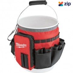 Milwaukee 48228175 - 32 Exterior Pockets Bucket Organiser Bag Large Cases