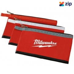 Milwaukee 48228193 - 3 Pack Zipper Pouches Pouches
