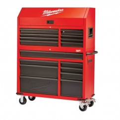 Milwaukee 48228500 - 1168mm Rolling Steel Storage Chest and Cabinet Workshop Tool Boxes & Trolleys