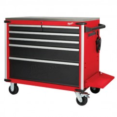 "Milwaukee 48228538 - 40"" Mobile Work Bench With Steel Top Tool Chests & Trolleys"