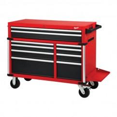 "Milwaukee 48228544 - 46"" 10 Drawer Steel Storage High Capacity Tool Trolley"