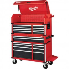 "Milwaukee 48228545 - 46"" Steel Storage High Capacity Chest Combo Kit Tool Chests & Trolleys"