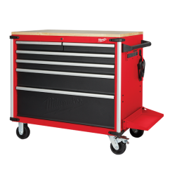 """Milwaukee 48228551 - 52"""" 11 Drawer High Capacity Mobile Work Bench Storage Drawers and Cabinets"""