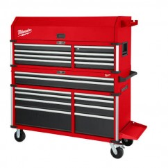 "Milwaukee 48228559 - 56"" Steel Storage High Capacity Chest Combo Kit Tool Chests & Trolleys"