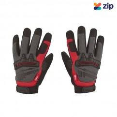Milwaukee 48229732 - Reinforced Padded Demolition Work Gloves - L Gloves