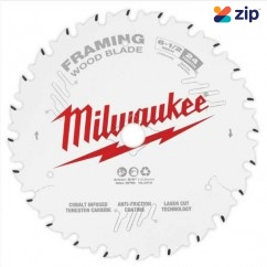 "Milwaukee 48400620- 165mm (6 1-2"") Framing 24T Circular Saw Blade  Milwaukee Accessories"