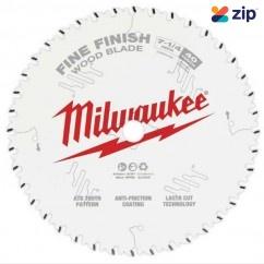 "Milwaukee 48400726- 184mm (7 1-4"") Finish 40T Circular Saw Blade  Milwaukee Accessories"