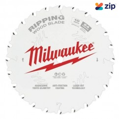 "Milwaukee 48408020 - 254mm (10"") Ripping 24T Circular Saw Blade Milwaukee Accessories"