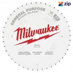"Milwaukee 48408220 - 305mm (12"") General Purpose 44T Circular Saw Blade Milwaukee Accessories"
