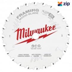 "Milwaukee 48408620 - 165mm (6-1/2"") Framing 24T Circular Saw Blade Milwaukee Accessories"