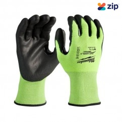 Milwaukee 48738930 - S High Visibility Cut Level 3 Gloves Gloves