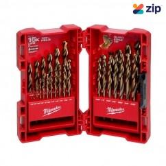 Milwaukee 48892341 - 29 Piece Red Helix Cobalt Imperial Drill Bit Kit