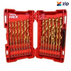 Milwaukee 48894761 - 29 Pce Red Hex Titanium Drill Bit Set Drill Bits