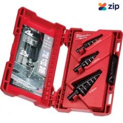Milwaukee 48899399 - 3 PCE Metric Step Drill Bit Set