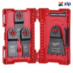 Milwaukee 48901006 - 6 Pieces Universal Shank Multi Tool Blades Kit Milwaukee Accessories