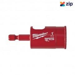 "Milwaukee 49560517 - 25mm (1"") Diamond Plus One-piece Hole Saw  Holesaws"