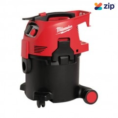 Milwaukee AS300ELCP - 1500W 30L Wet / Dry L-Class Dust Extractor Dust Extractors for Power Tools