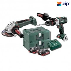 Metabo SB WB 125 BL M HD 4.0 Kit - 18V 2-Piece Brushless 4.0 Ah LiHD Combo Kit (AU68901780)