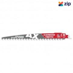 Milwaukee 48005232 - 225mm 3TPI Carbide Teeth SAWZALL AX Saw Blade