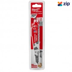 Milwaukee 48005321 - 150mm 5TPI 3 Piece AX Carbide Teeth SAWZALL Saw Blade Milwaukee Accessories