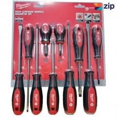 Milwaukee 48222714 - 10 Piece Screwdriver Kit Tool Kit