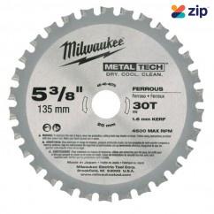 "Milwaukee 48404070 - 5 3/8"" 135mm 30 Teeth Metal  Circular Saw Blade"